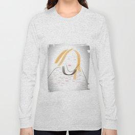 Traveling Lady Long Sleeve T-shirt