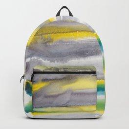 18   | Abstract Minimal Watercolor Painting | 191223 Backpack