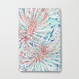 Tropical abstract(12) Metal Print
