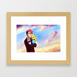 For a better day Framed Art Print