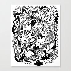 Weirdo doodle Canvas Print