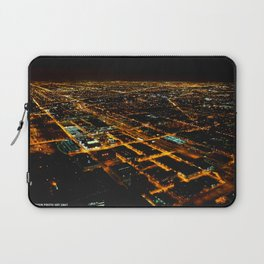 Miles and Miles of Lights (Chicago Architecture Collection) Laptop Sleeve