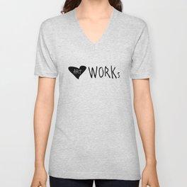 heART Works Unisex V-Neck