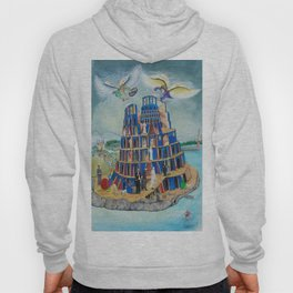 Walking the Tower of Babylon Hoody