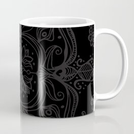 Dark Side Mandala Coffee Mug