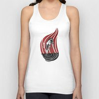return Tank Tops featuring Return One by MJ DiLorenzo