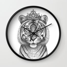 The Tigress Queen Wall Clock