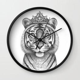 The Tigress Queen Wall Clock