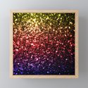 Beautiful rainbow yellow red purple sparkles by pldesign