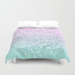 Mermaid Girls Glitter #1 (2019 Pastel Version) #shiny #decor #art #society6 Duvet Cover