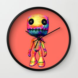 Voodoo Doll Wall Clock