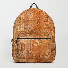 Antique Turkish Oushak Rug Print Backpack