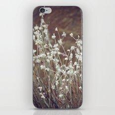 Rock Flowers iPhone Skin