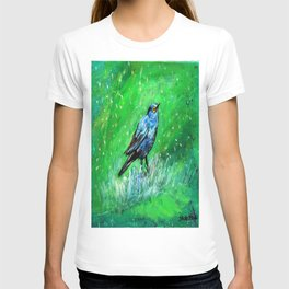 Greater Blue-earred Starling T-shirt
