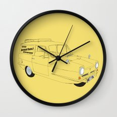 Only Fools and Horses Robin Reliant Wall Clock