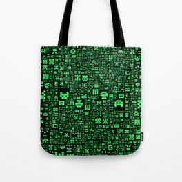 Hello Invaders Tote Bag