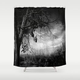 Flying fox Shower Curtain