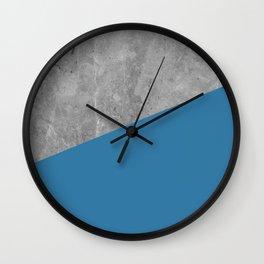 Geometry 101 Saltwater Taffy Teal Wall Clock