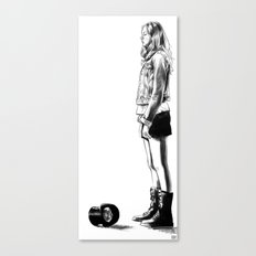 Records Available - Doctor Who Canvas Print