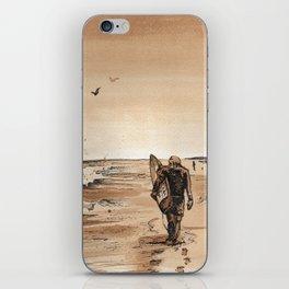 Coffee Art- Surf iPhone Skin