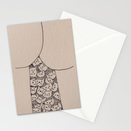 Things That Are Cute: Butts n Kitties Stationery Cards