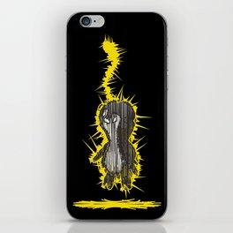 Fried Penguin iPhone Skin