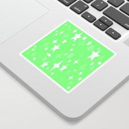 Light Green Atomic STARs Sticker