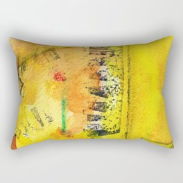 A color-washed life 12 Rectangular Pillow