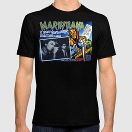 1930s anti marijuana propaganda film poster T-shirt