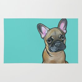 Armand the Frenchie Pup Rug