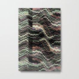 Woven Metal Print