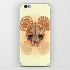 War mask iPhone & iPod Skin