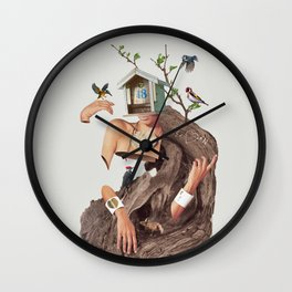 House No.18 Wall Clock