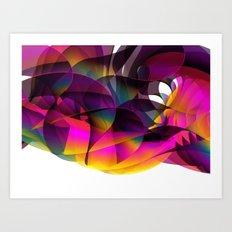 Fans Art Print
