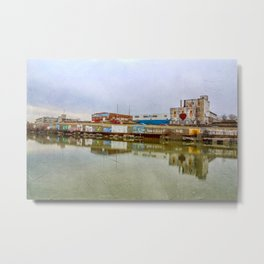 The Beauty of Urban Decay Metal Print