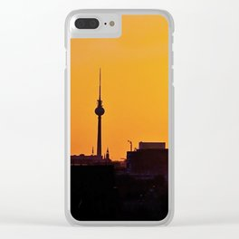 BLN sunrise Clear iPhone Case