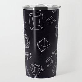 doodle crystals Travel Mug