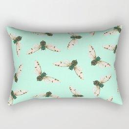 Cicada Jewels Rectangular Pillow