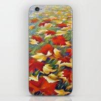Luxury of Fall iPhone & iPod Skin