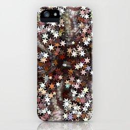 Stars in Creamy Brown Taffy iPhone Case