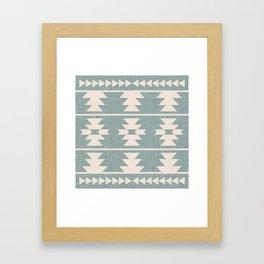 Southwestern Pattern 127 Framed Art Print