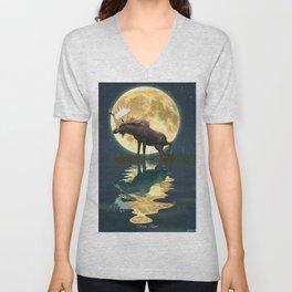 Moose & Moon Unisex V-Neck