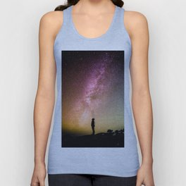 Galaxy Explorer Unisex Tank Top