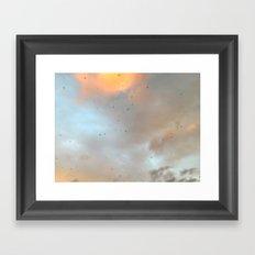 Kiss the Sky Framed Art Print