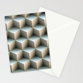 Ambient Cubes Stationery Cards