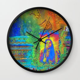 Colorful Hertiage Wall Clock