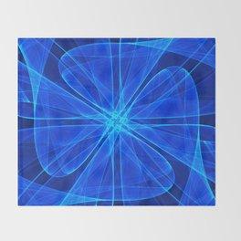 Tulles Propeller Computer Art Throw Blanket