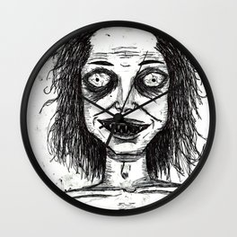 CRAZY DUDE Wall Clock