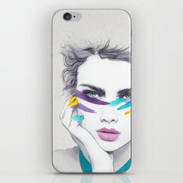 War Paint Sally iPhone Skin