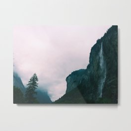 Valley of 72 Waterfalls, Switzerland Metal Print